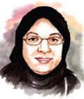 الدكتورة سهيلة زين العابدين  لجريدة المدينة بشأن قرارات خادم الحرمين الشريفين المانحة للمرأة حقوقها السياسية